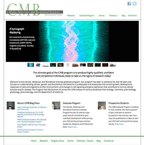 Visit the Cellular, Molecular & Biomedical Sciences program site